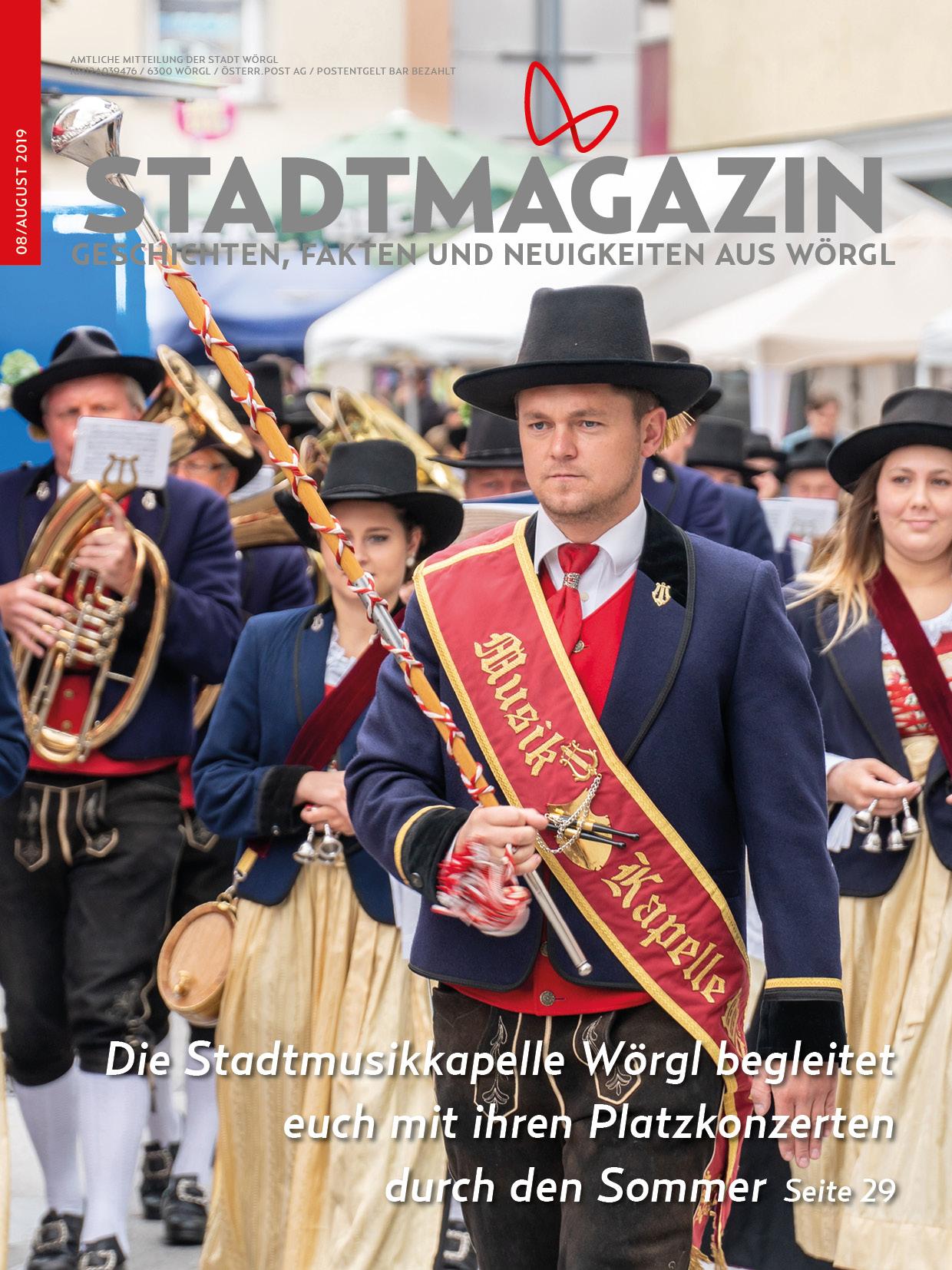 Stadtmagazin - Ausgabe 07/2019